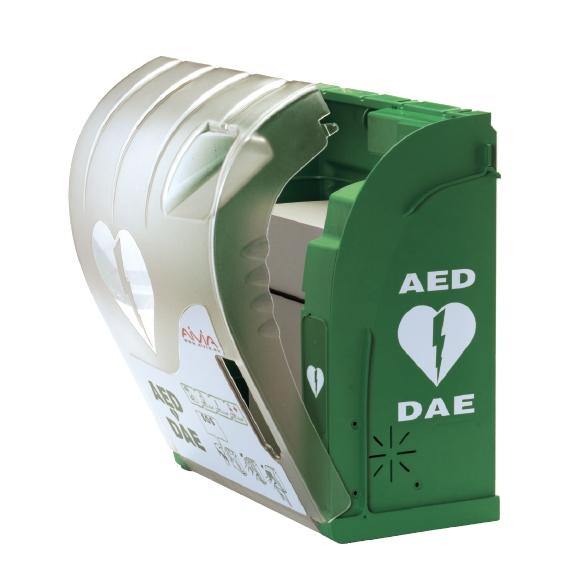 Aivia 200 Aed Buitenkast Met Verlichting Alarm En Verwarming